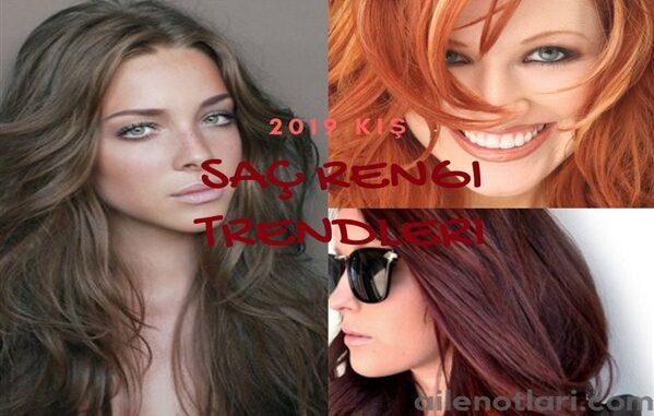 2019 kış saç rengi trendleri