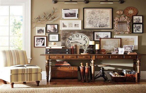 Vintage ev dekorasyonu