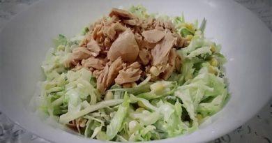 Mayonez soslu ton balığı salatası tarifi
