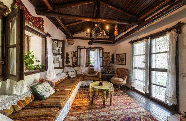 Rustik ev dekorasyon teması
