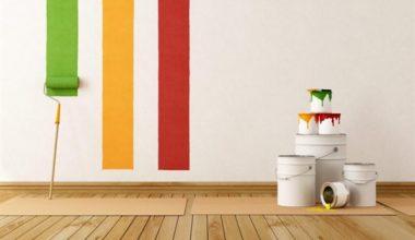 Boyalar rulolar hazır mı: boya badana yapıyoruz!