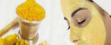 cilt lekeleri için zerdeçal maskesi