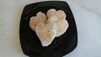 un kurabiyesi, bademli kurabiye, kavala kurabiyesi