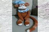Çoraptan oyuncak maymun nasıl yapılır?