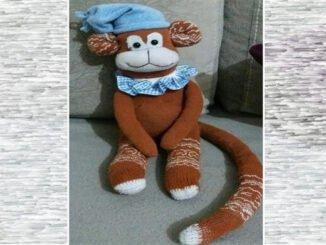 Çoraptan oyuncak maymun nasıl yapılır