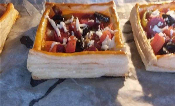 milföyden pizza yapımı