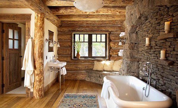 rustik ev dekorasyon